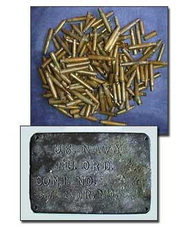 Rifle shells, Navy container seal