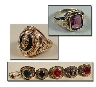 Boston University Class Ring