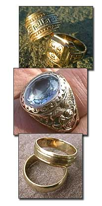 Roger Williams & US Navy rings