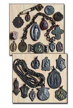 Antique Religious Medals